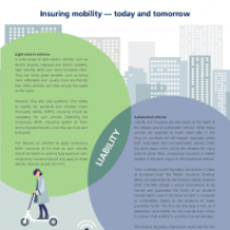 Insuring mobility — today and tomorrow