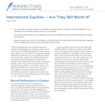 International Equities — Are They Still Worth It?