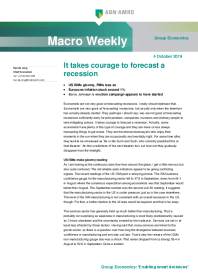 Macro Weekly It takes courage to forecast a recession