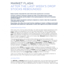 Market Flash: After The Last Week's Drop Stocks Rebounded