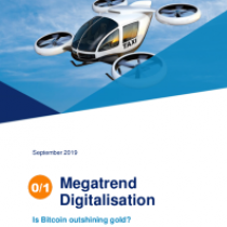 Megatrend Digitalisation – Is Bitcoin outshining gold?