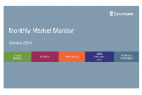 Monthly Market Monitor October 2019