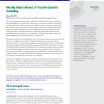 Mostly Quiet Ahead of Fourth-Quarter Volatility