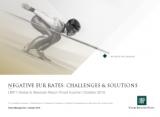 Negative EUR Rates: challenges & solutions UBP