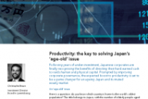Productivity: the key to solving Japan's 'age-old' issue