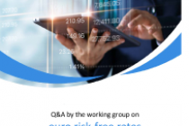 Q&A by the working group on euro risk‐free rates