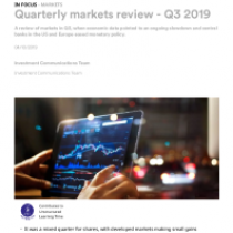 Quarterly markets review – Q3 2019