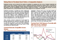 Taking Stock of Farmland Cash Yields: a Comparative Analysis