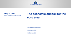 The economic outlook for the euro area
