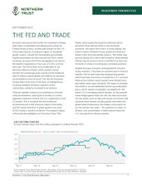 The Fed and Trade