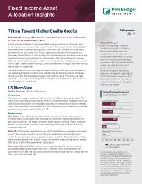 Tilting Toward Higher Quality Credits