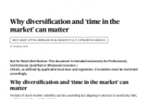 Why diversification and 'time in the market' can matter