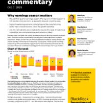 Why earnings season matters