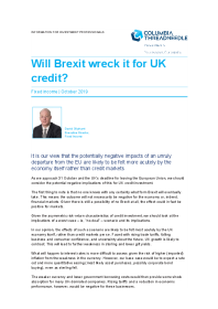 Will Brexit wreck it for UK credit?