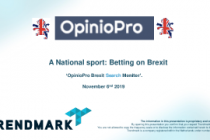 A National sport: Betting on Brexit