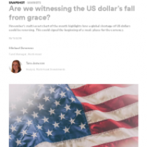 Are we witnessing the US dollar's fall from grace?