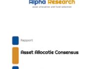 Asset Allocatie Consensus November 2019