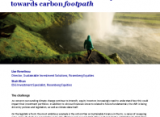Carbon reduction: Moving away from carbon footprint towards carbon footpath