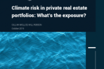 Climate risk in private real estate portfolios: What's the exposure?