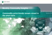 Commodity price trends remain mixed in the short term