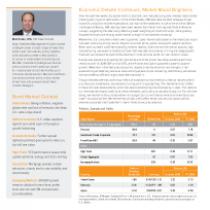 Economic Debate Continues, Market Mood Brightens