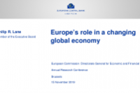 Europe's role in a changing global economy