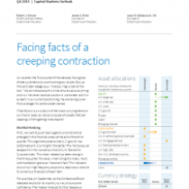 Facing facts of a creeping contraction