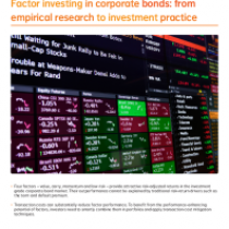 Factor investing in corporate bonds: from empirical research to investment practice