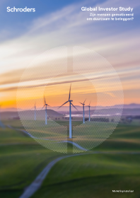 Global Investor Study Zijn mensen gemotiveerd om duurzaam te beleggen?