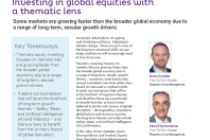Investing in global equities with a thematic lens