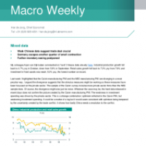 Macro Weekly – Weak Chinese data suggest trade deal crucial