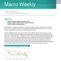 Macro Weekly – Weak Chinese data suggest trade deal crucial