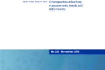 Overcapacities in banking: measurements, trends and determinants