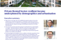 Private Rented Sector: resilient income underpinned by demographics and urbanisation