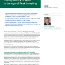 Putting Money to Work in the Age of Peak Investing