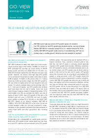 Re-Examine Valuation And Growth At New Record High