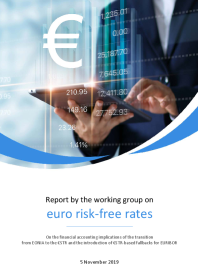 Report on the financial accounting implications of the transition from EONIA to the €STR and the introduction of €STR-based fallbacks for EURIBOR