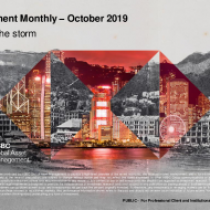 Riding the storm Investment Monthly – October 2019