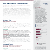 Stick With Quality as Economies Slow