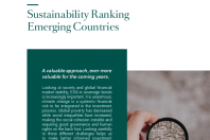 Sustainability Ranking Emerging Countries October 2019