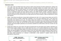 Swiss & Global Equities