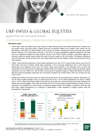 Swiss & Global Equities