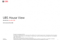 UBS House View – Global Tactical Asset Allocation