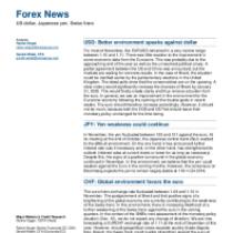 USD: Better environment speaks against dollar