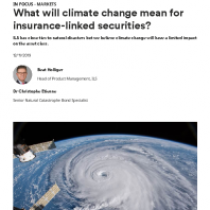 What will climate change mean for insurance-linked securities?