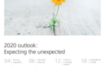 2020 outlook: Expecting the unexpected