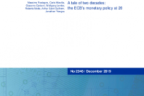 A tale of two decades: the ECB's monetary policy at 20