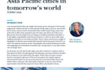 Asia Pacific cities in tomorrow's world