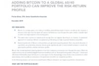 Bitcoin in multi-asset portfolios