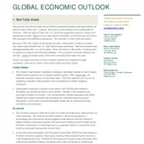 Global Economic Outlook 2020